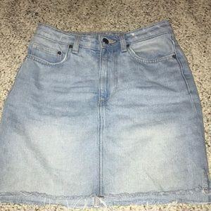 H&M Frayed Skirt